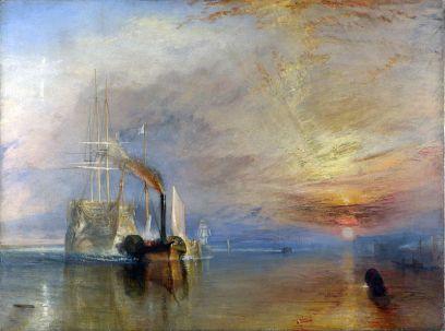 Turner-El temerario remolcado a dique seco-1839